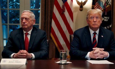 Trump, Annoyed by Resignation Letter, Pushes Out Mattis Early